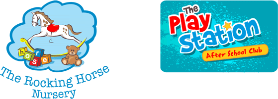 The Rocking Horse Nursery and Play Station logo